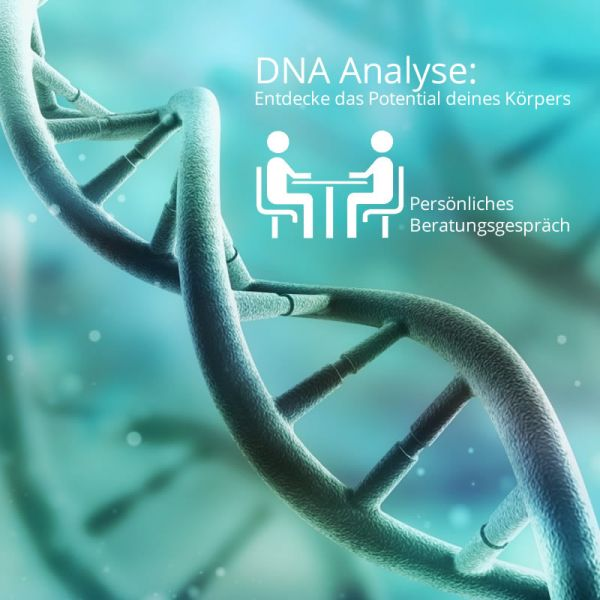 DNA Analyse inkl. 2h persönliche Beratung und Einführung